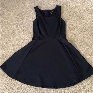 Black dress from Express